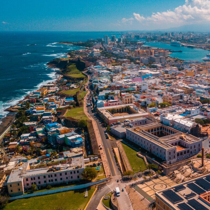San Juan, Puerto Rico, Caribbean Sea
