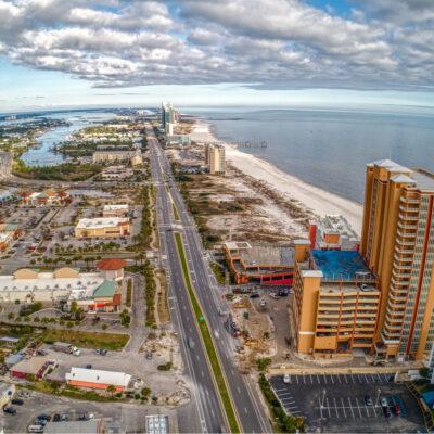 Orange Beach is a Tourist Destination and Beach Town in Far Eastern Alabama on the Florida Border.