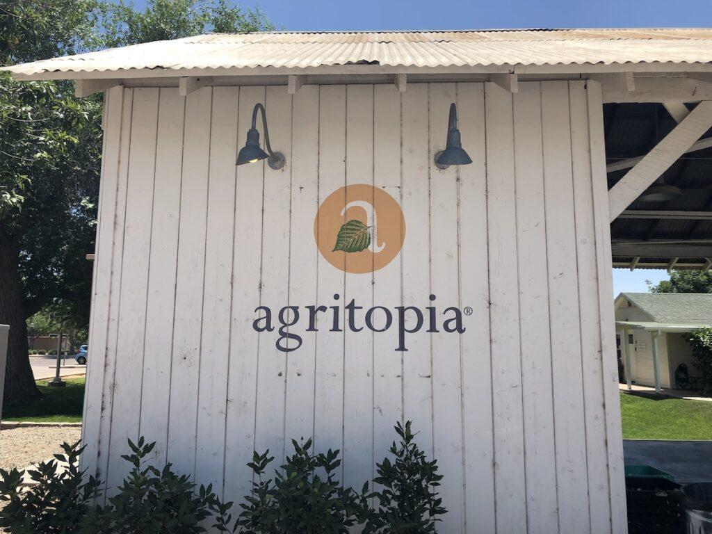 The exterior of Agritopia.