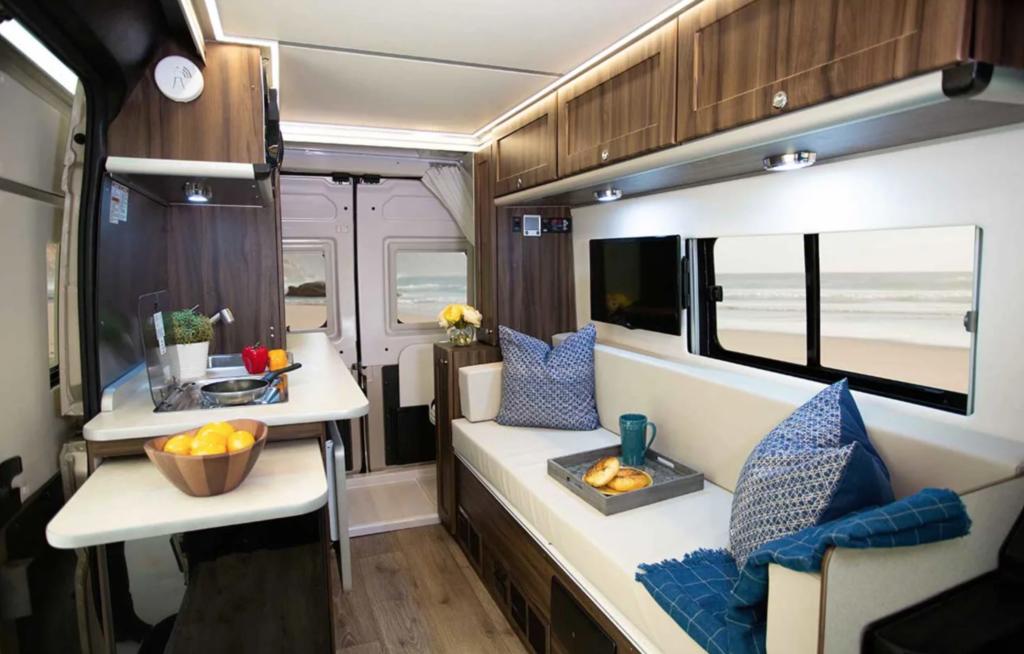 2019 Carado Axion Promaster Van.