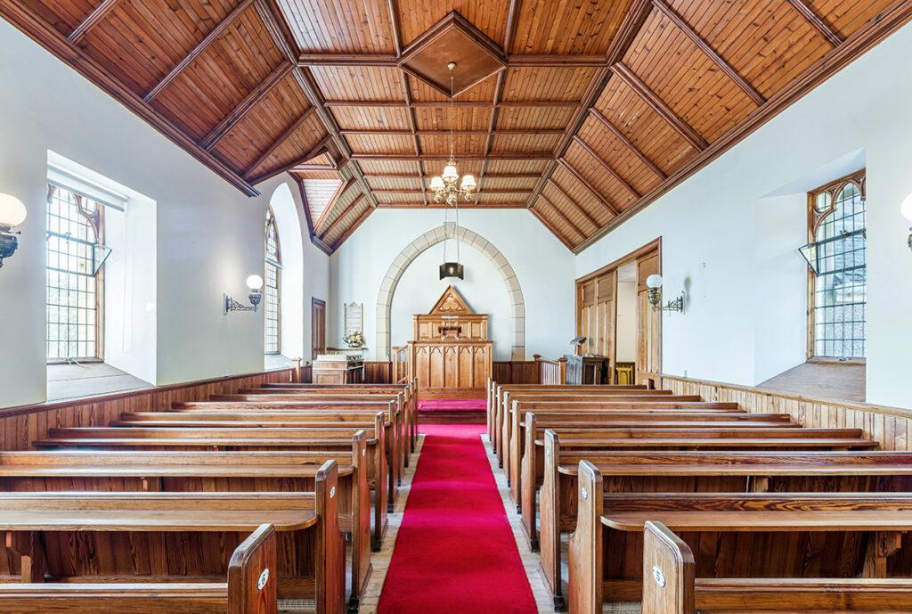 L'église de Highland Escape, en Écosse.