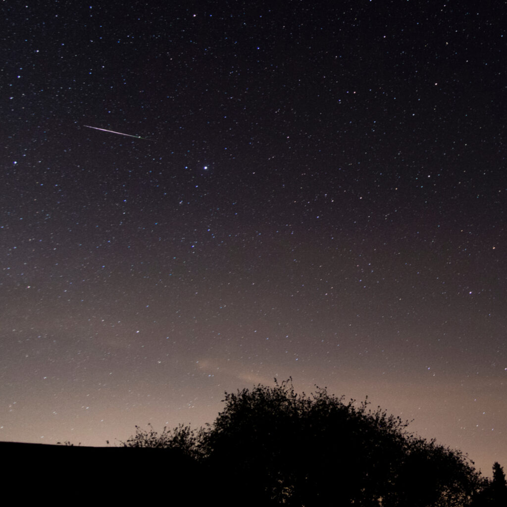 2020 Lyrid meteor shower,Herefordshire, England.