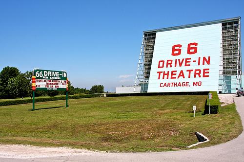 66 Drive-In Theatre in Jasper County, Missouri