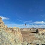 Cave Peak Stairway, Amangiri resort, Utah.
