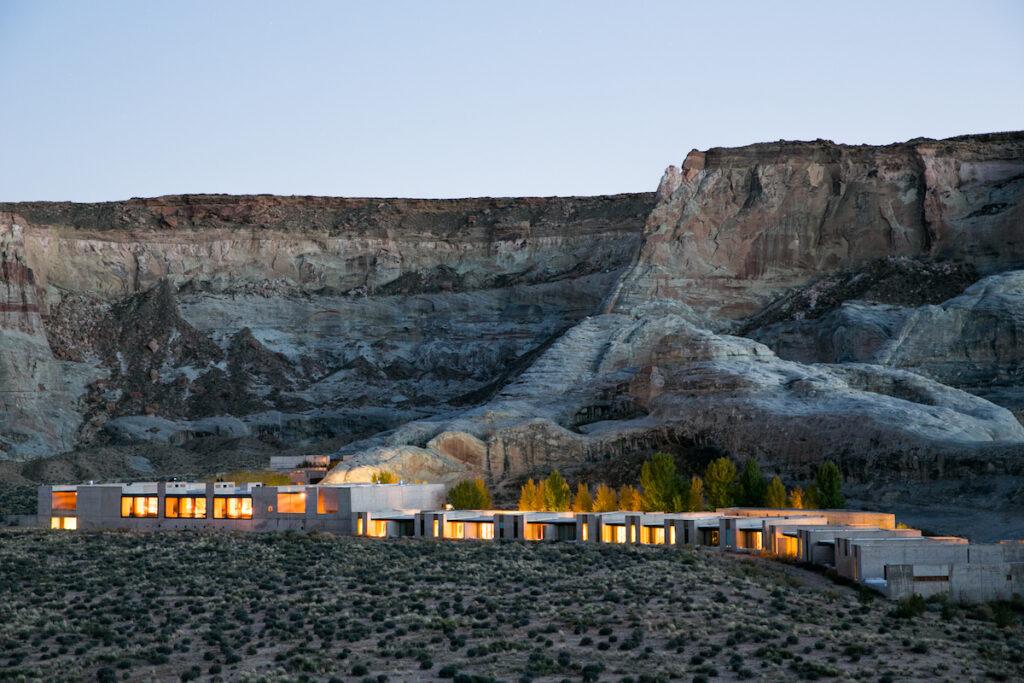 Amangiri resort in Canyon Point, Utah.
