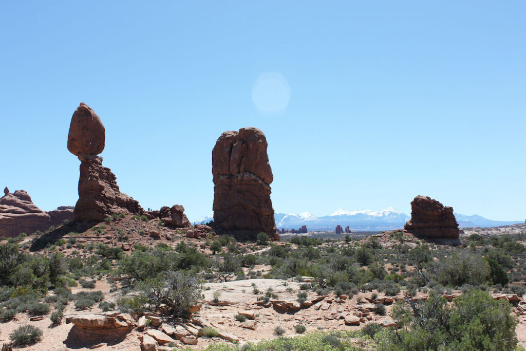 Balanced Rock in Arches.