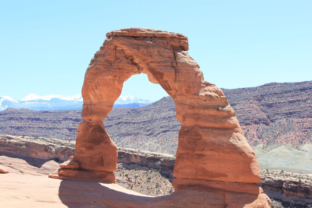Delicate Arch in Arches.
