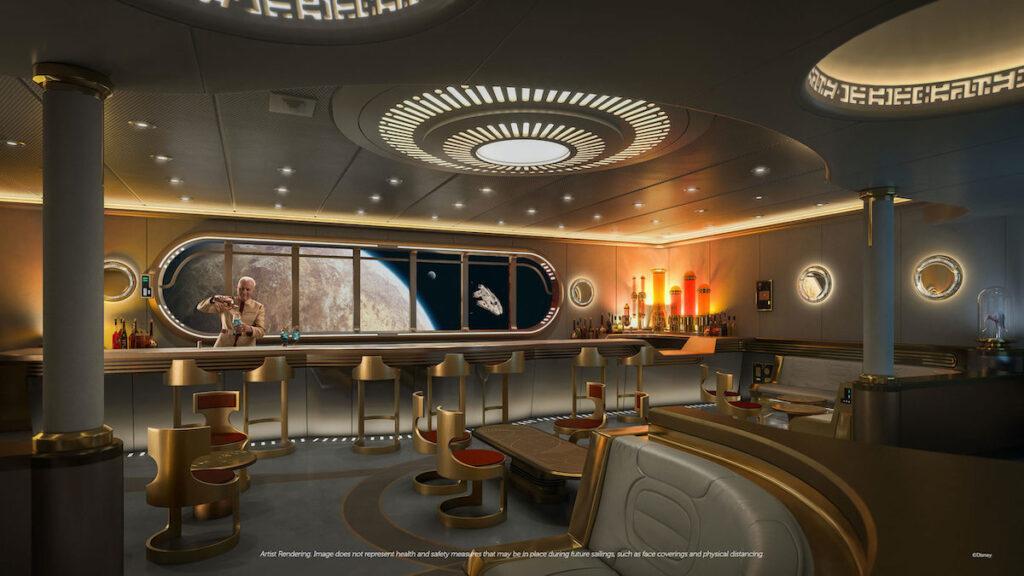 Stars Wars-themed bar.
