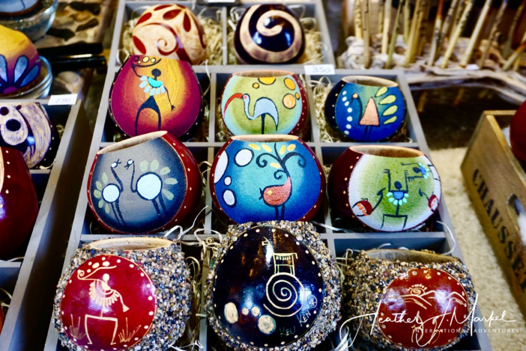 Vibrant, beautifully crafted souvenirs.