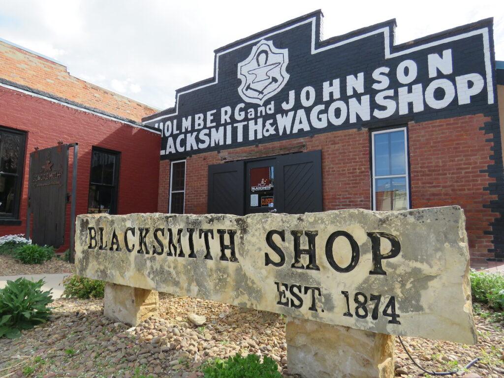 Blacksmith Coffee Shop.