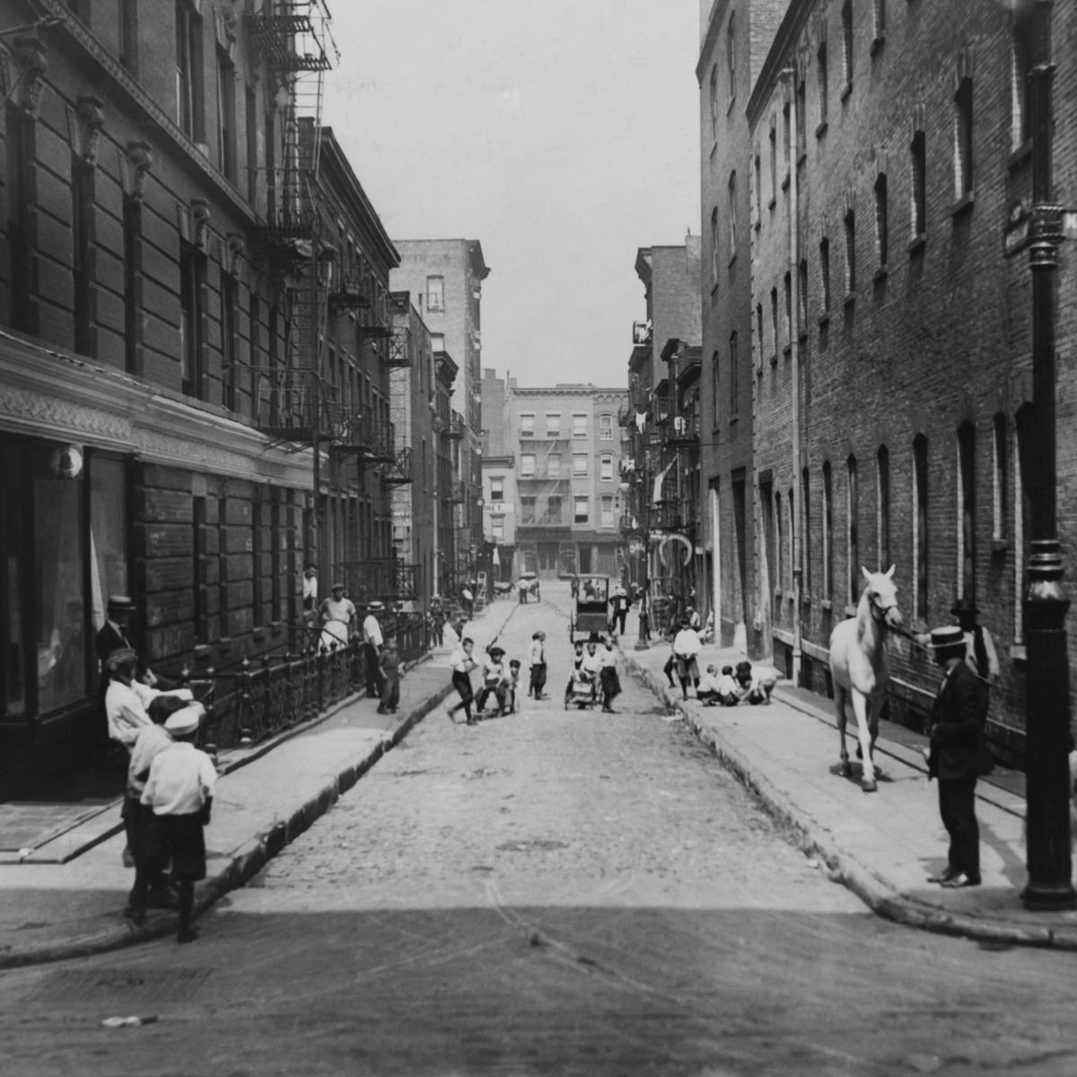 Greenwich Village, New York City, 1923.