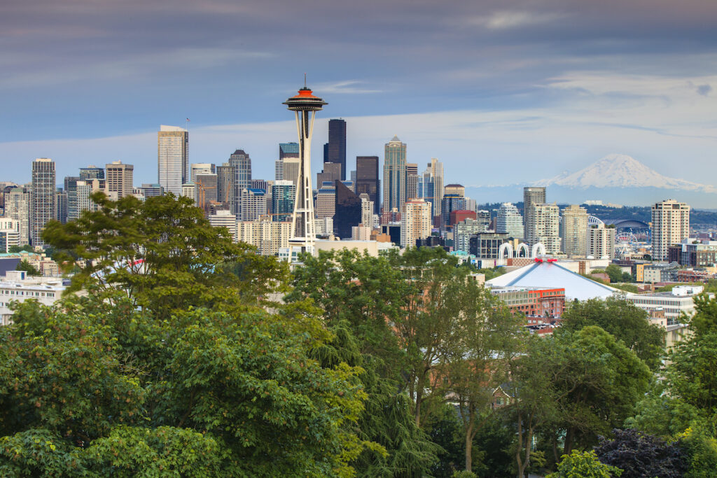 Seattle from Kerry Park.