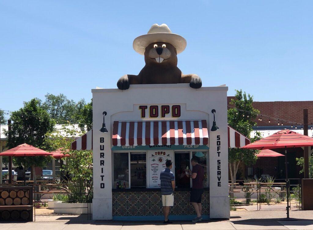 TOPO building in Gilbert, AZ.