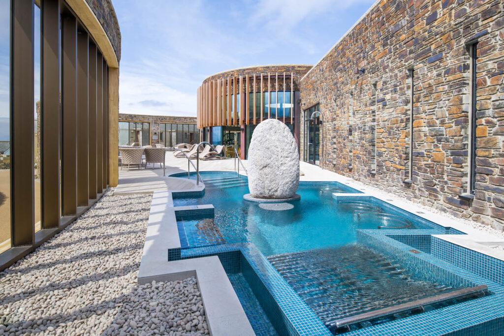 Incredible pool at The Headland.