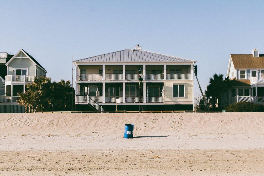 A beach house in Isle of Palms, South Carolina.