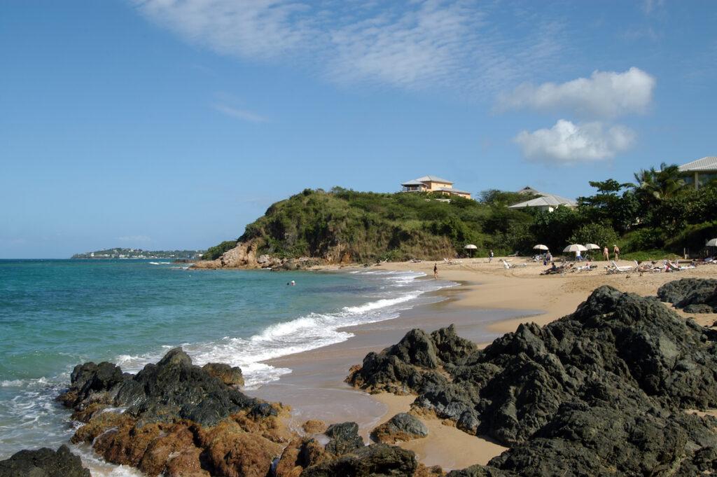 A beach on Vieques, Puerto Rico.