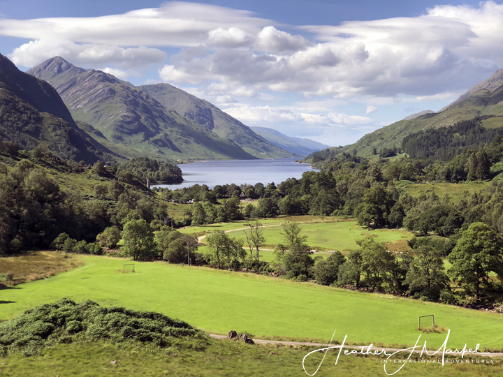 A beautiful Scottish landscape.