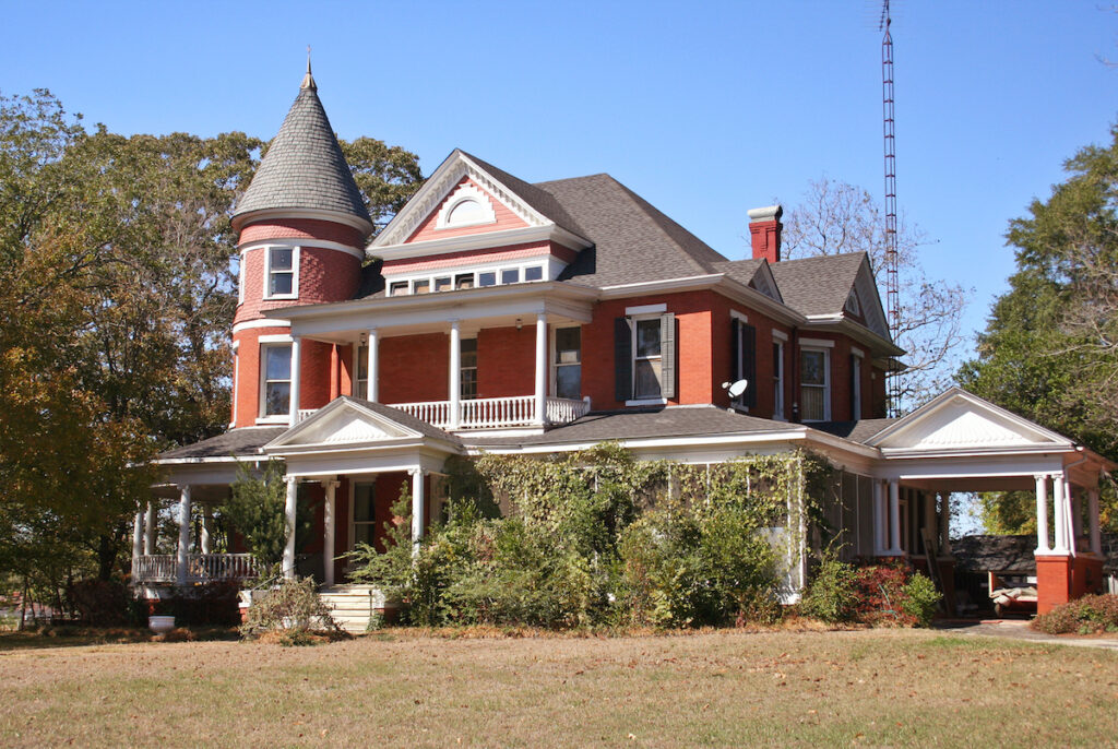 A beautiful Victorian home in Palestine, Texas.