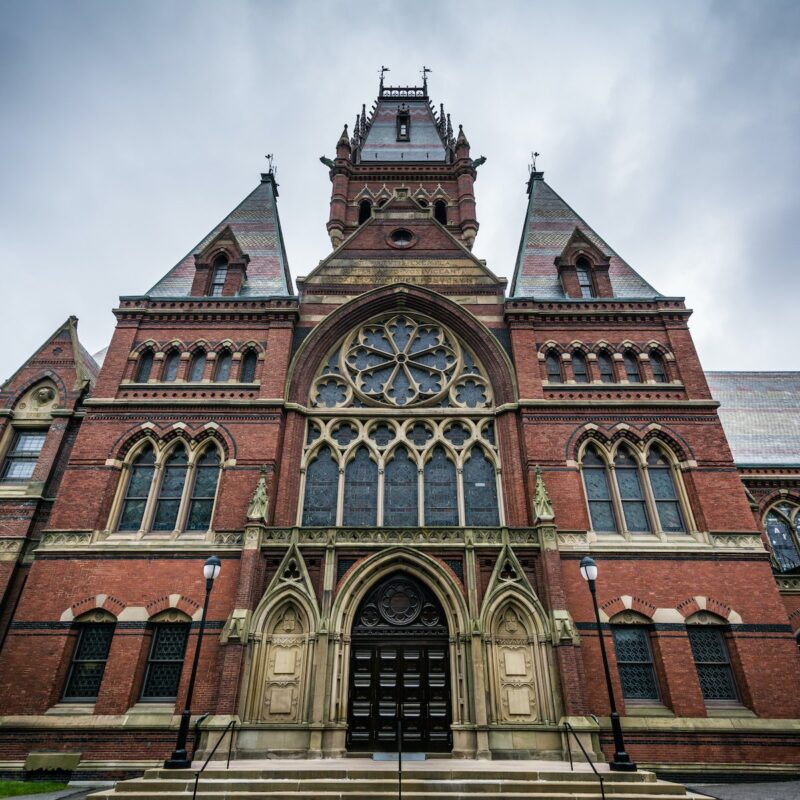 A building on Harvard's campus.