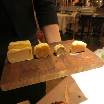 A butter tasting in Frankfurt, Germany.