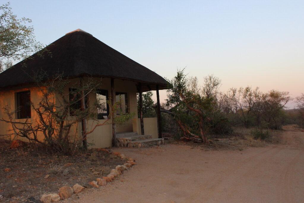 A cabin in Kruger National Park.