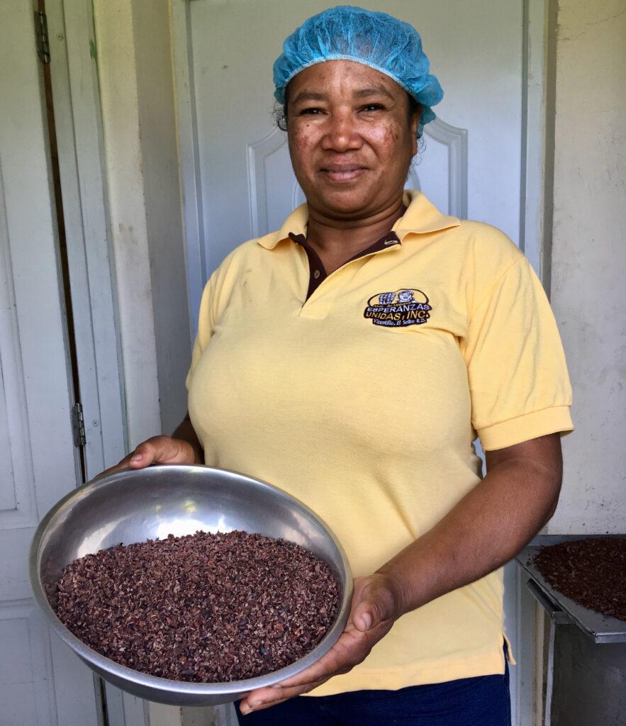 A cacao farmer.