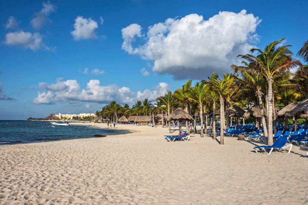 A Caribbean resort in Playa del Carmen.