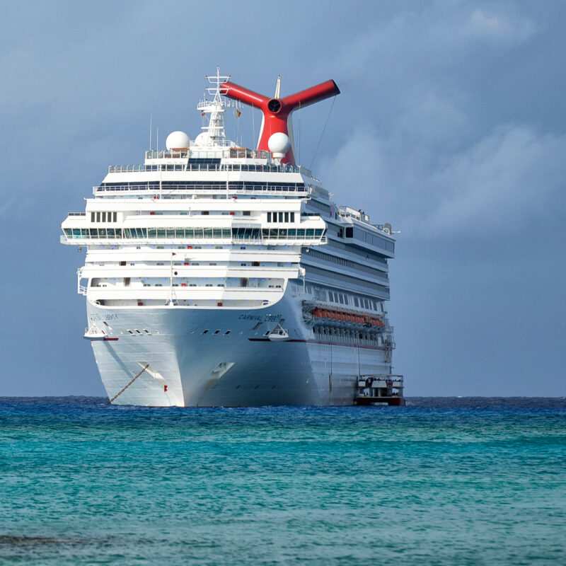 A Carnival Cruise Lines ship.