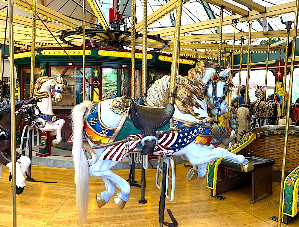 A Carousel for Missoula in Montana.