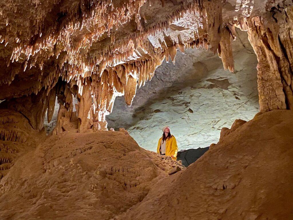 A cave in Cumberland Caverns.