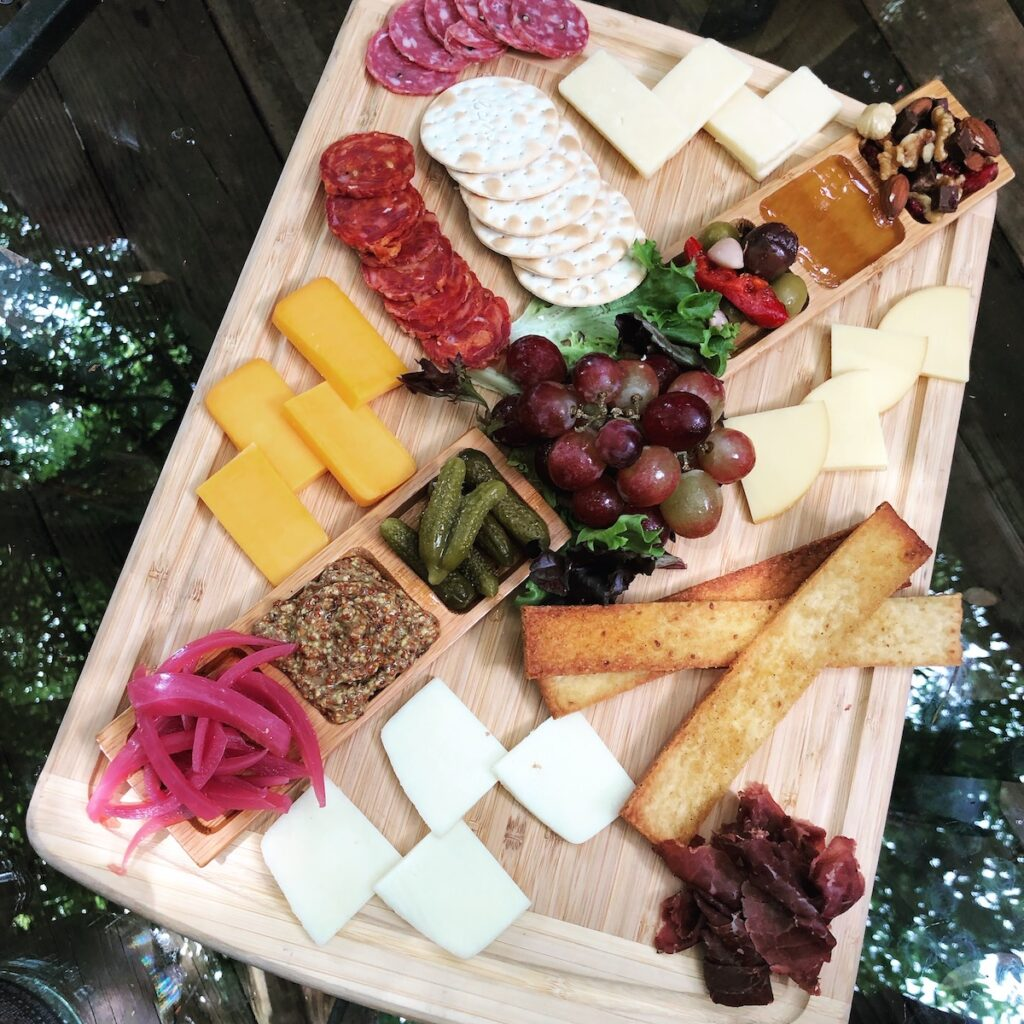 A charcuterie board from Faded Bistro and Beer Garden.