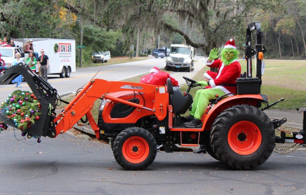 A Christmas parade in Mobile Bay, Alabama.