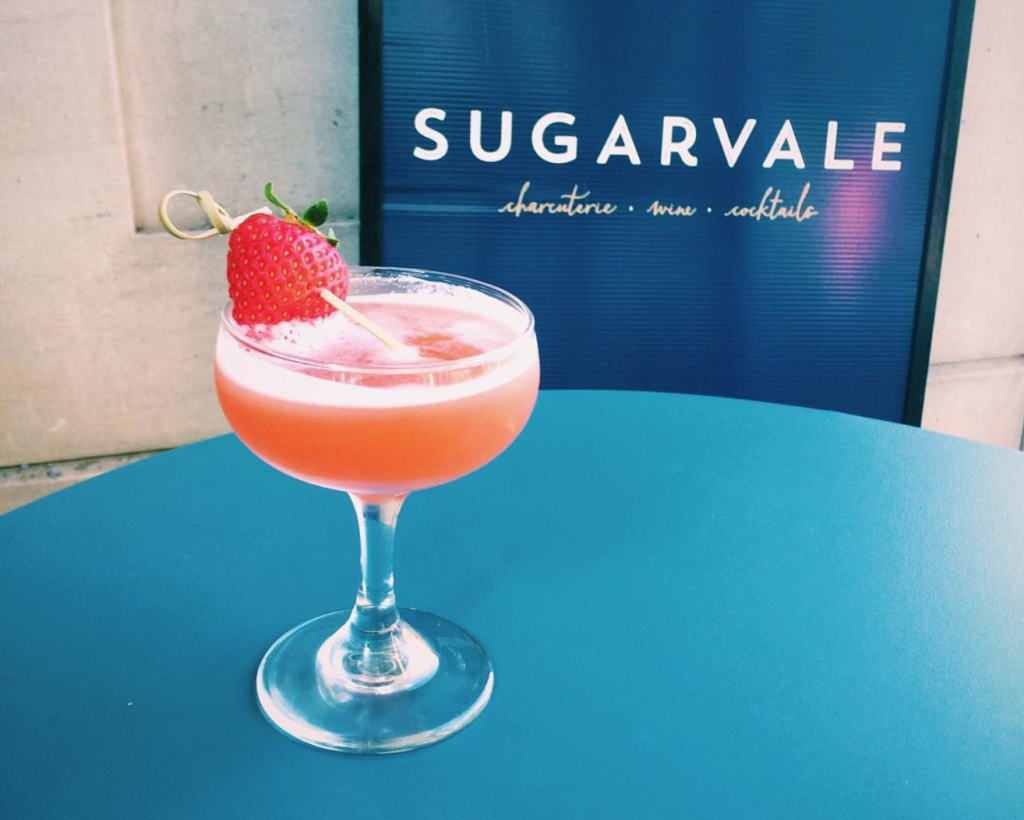 A cocktail from Sugarvale in Baltimore.