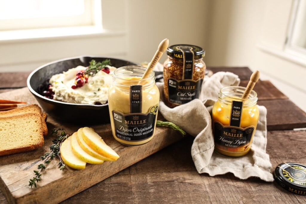 A collection of spreads from Maille in France.
