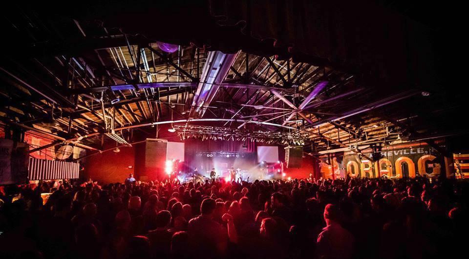 A concert at The Orange Peel.