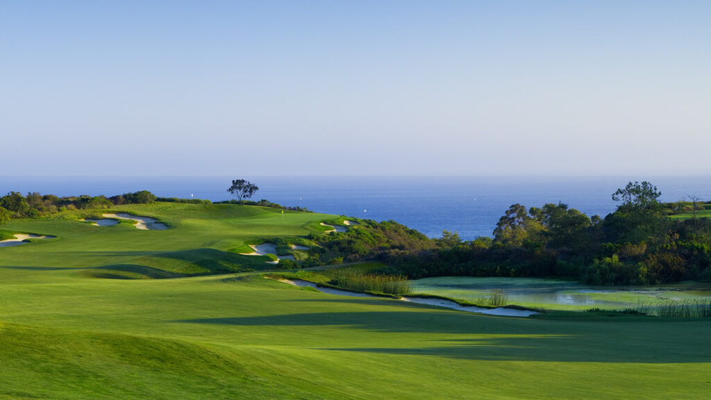 A course at the Pelican Hill Golf Club.
