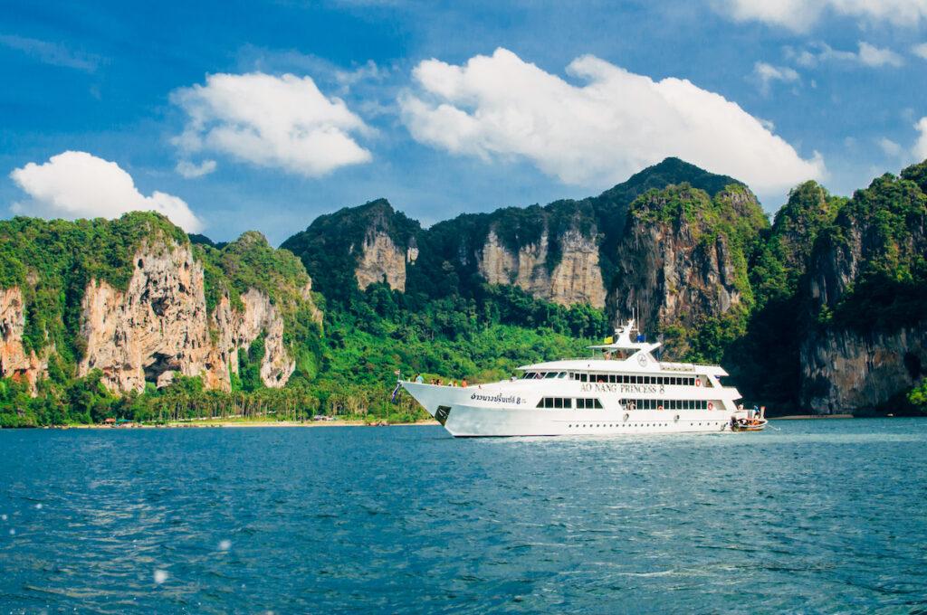 A cruise in Thailand.
