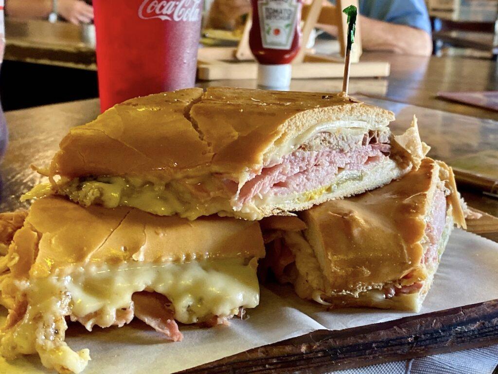 A Cuban sandwich from Miami's Little Havana.