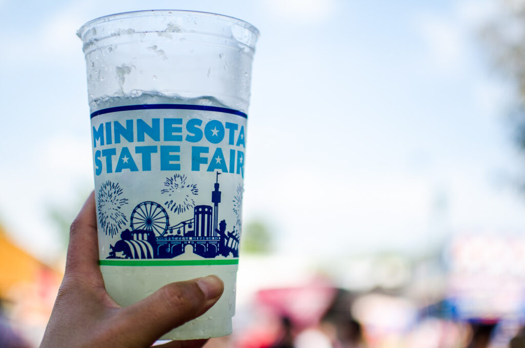 A cup from the Minnesota State Fair
