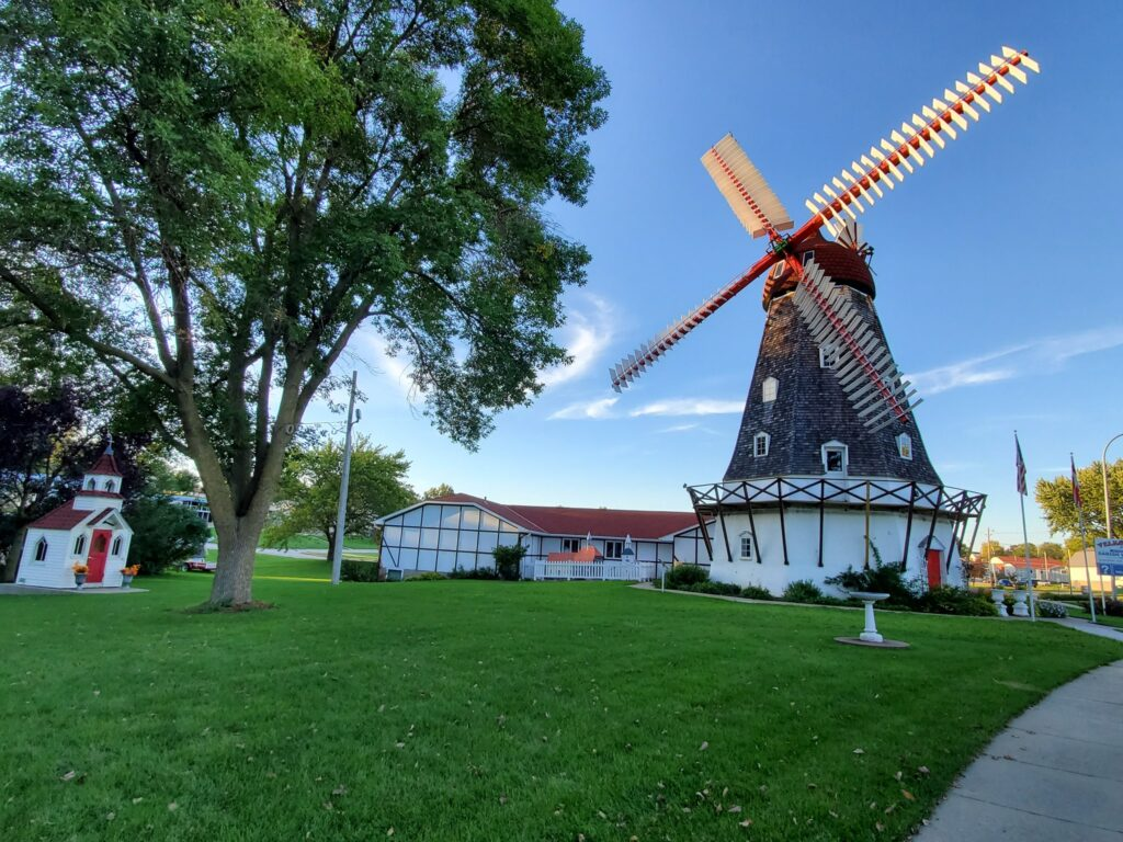 A Danish windmill in Elk Horn, Iowa.