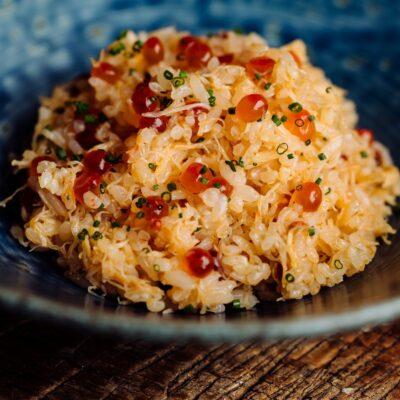 A dish at Yoshitomo.