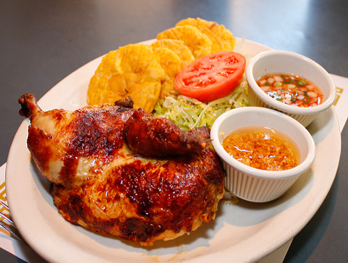 A dish from Flor De Mayo.