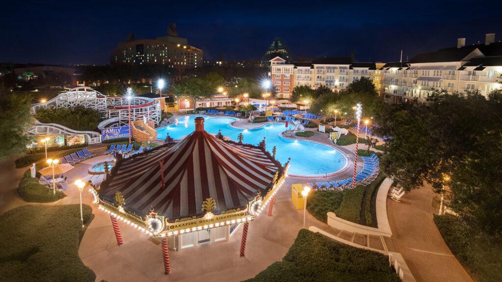 A Disney resort.