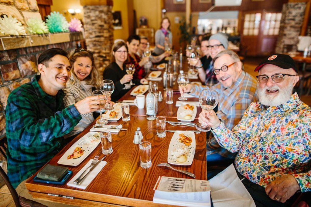 A food tour in Jasper.