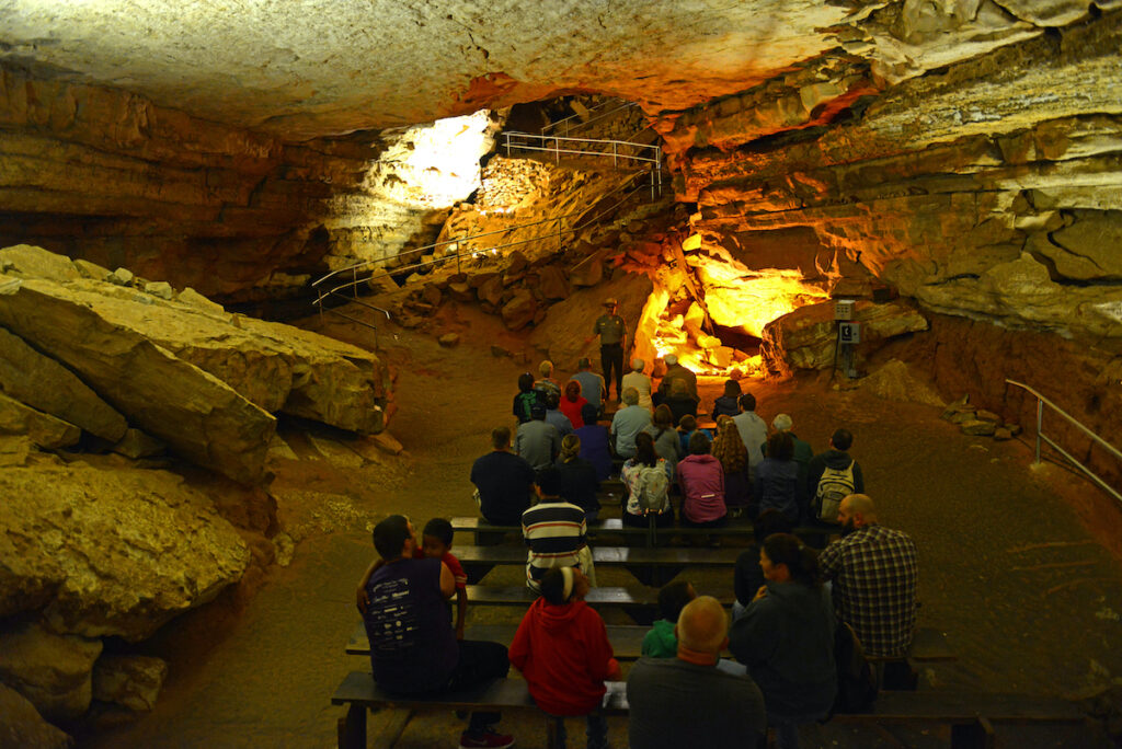 A guided tour of Mammoth Cave National Park.