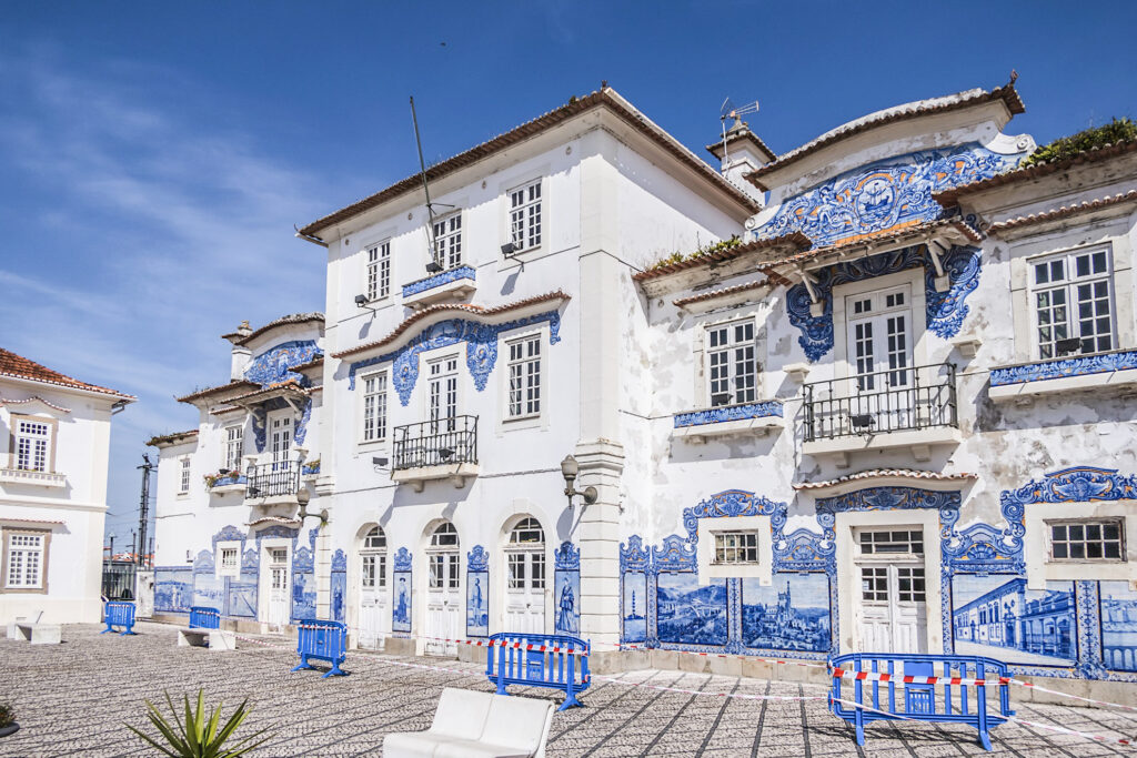 A historic building in Aveiro.