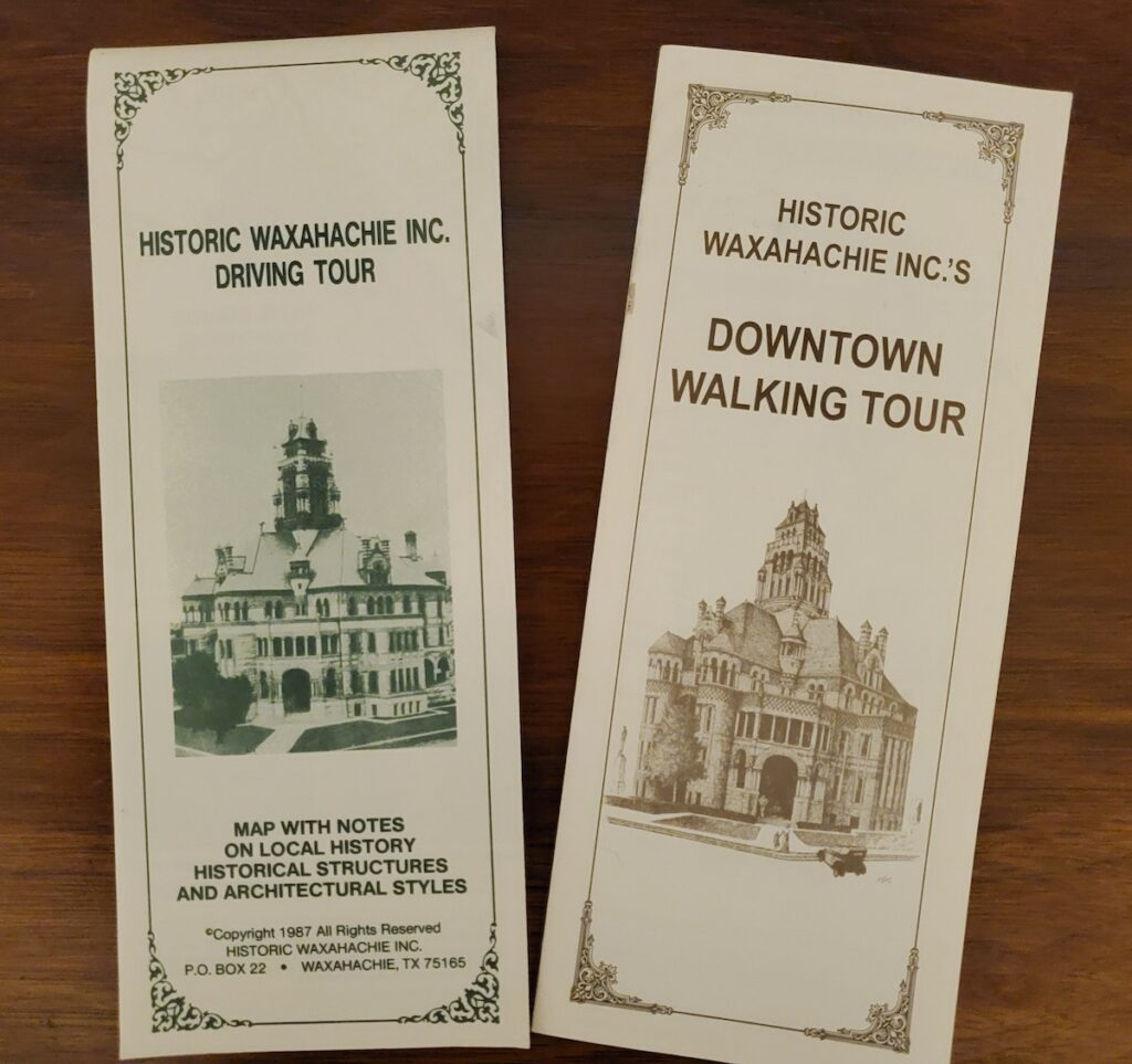 A historic walking tour of Waxahachie, Texas.