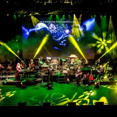 A holiday performance from Mannheim Steamroller.
