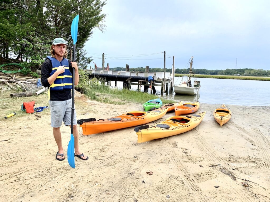 A kayak tour with SouthEast Expeditions.
