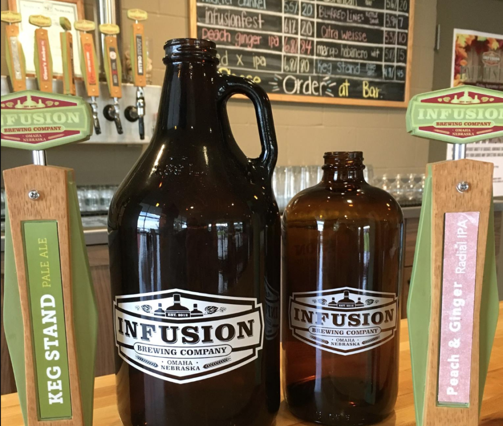 A keg from Infusion Brewing Company.